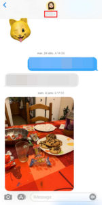 Enregistrer les photos de Messages avec iOS