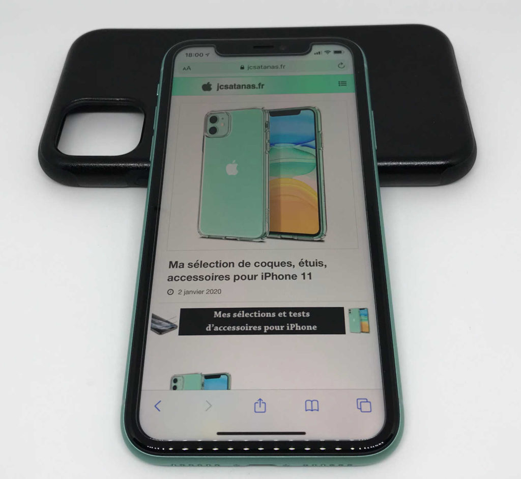 Test de la vitre de protection écran Spigen EZ FIT pour iPhone 11 et iPhone XR
