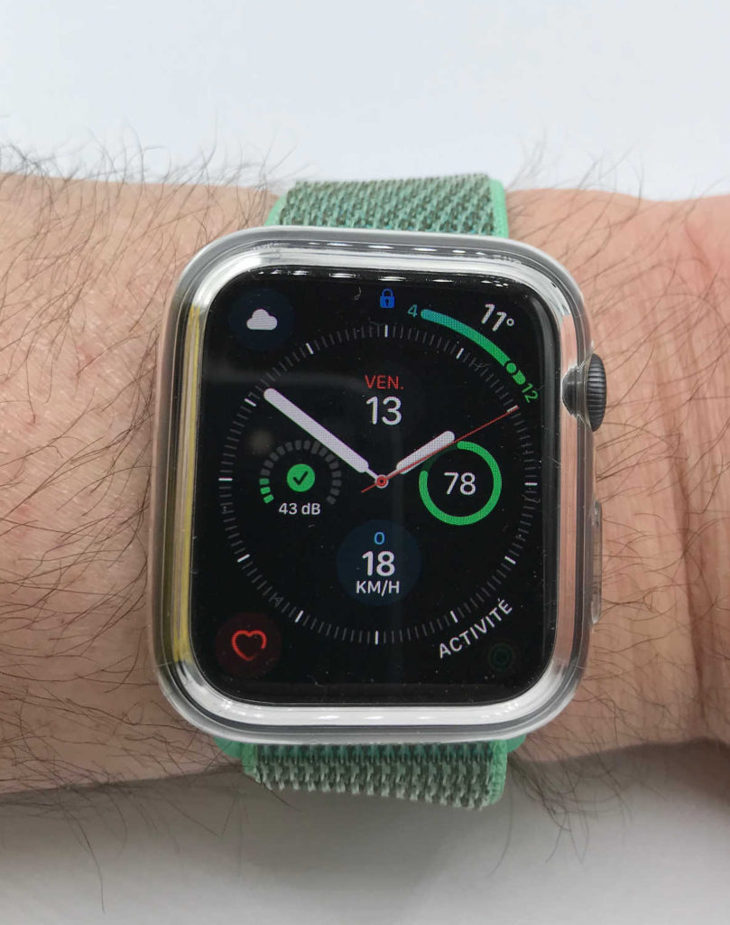 Test de la coque Spigen Ultra Hybrid pour Apple Watch