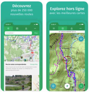 Sélection d'applications iPhone pour les cyclistes