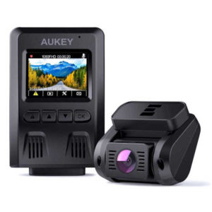 Test de la double DashCam 1080p DR02 D Aukey