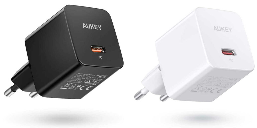 Test du chargeur secteur 20W Power Delivery PA-Y20S Aukey