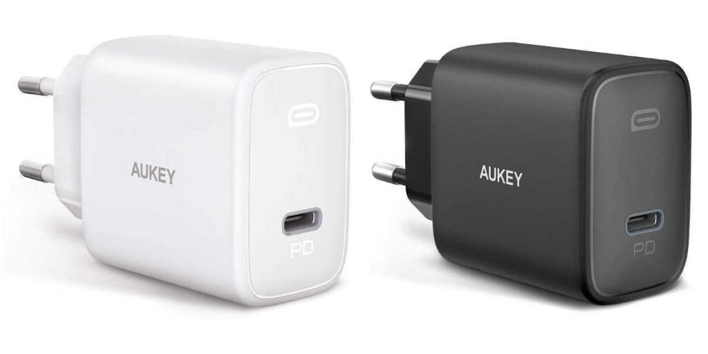 Test du chargeur secteur 20W Power Delivery PA-F1S Aukey
